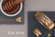 The Bee & Honeycomb Collection / Utterly unique, our Bee and Honeycomb collection is a firm favourite. It looks equally gorgeous when either dressed up or down and is a must have.