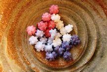 Japanese confectionery / 金平糖、干菓子、練り切り、羊羹・・・