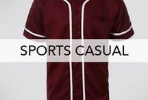 MEN'S SPORTS CASUAL / Sporty outfits that can be worn as casual for Mens