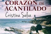 Corazon de acantilado / Corazón de Acantilado, la nueva novela de Cristina Selva. Romántica contemporánea. Romántica actual. cristinaselva.com