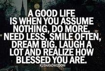 Quotes, life & random stuff
