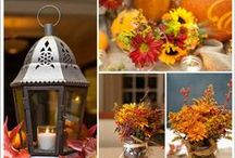 INSPIRATION: Fall Wedding / ideas for fall wedding decor