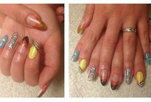 Nail art Summer Glam / Nail art