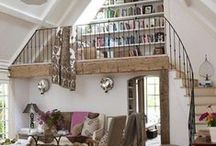 Upstairs study / The one with the mezzanine