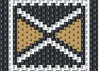2.1.Peyote & brick stitch