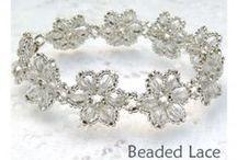 1.3. Na specjalne okazje / Pomysły na biżuterie w wersji wieczorowej i okazjonalnej z zastosowaniem koralików-kryształków (biscone, Swarowski, FP), bransoletki, kolie, komplety