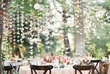 whimsical elegance in an outdoor setting / outdoor events that inspire us here at alison event planning + design  / by Alison Events