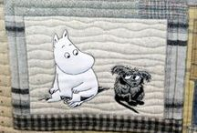 Tokyo quilt festival 2014 Moomin quilts / Thank you, robotdreams from flickr, for great photos!