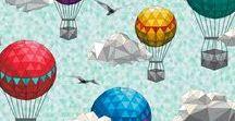 Spoonflower Fabric of the Week - Geodesic Challenge