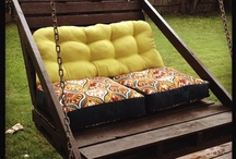 Backyard DIY / Something for me and the honey to work on  / by Angela Hardison-Jones