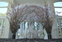 Our Ceremony Designs / visit us-  Maria and Larry at FloralExpressionsOnline.com