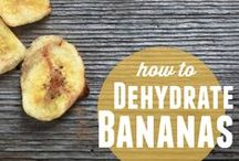 Dehydrating / How to dehydrate foods and recipes.