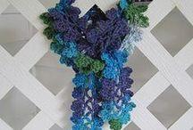 Crochet scarf/cowl patterns