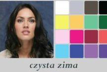 Kolory (czysta zima) / kolory korzystne dla typu kolorystycznego czystej zimy