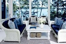 Lake Home Interiors / Ideas for decorating a lake house or cabin