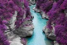 Piękne pejzaże / Niesamowite dzieła natury, fantastyczne i surrealistyczne pejzaże, foto-szopki itd.