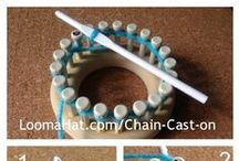 uncinetto: knitting loom