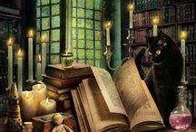 Czary / Czarownice, wiedźmy, czarodziejki,czarodzieje, magowie, magia, zaklęcia, alchemia, Halloween, Harry Potter...