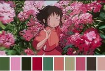 Barwy, palety barw / Palety barw, obrazy i zdjęcia o interesującej kolorystyce, itp