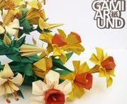 OrigamiFlowers Around / My origami flower creations.