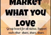☮☮☮ Market What You L❤ve / Group Board for your best blogging, marketing, and creative entrepreneur tips & tools.. No limit on posts, but make sure you space them out, and re-pin one for every one you post. Gotta support each other! To join just follow this board and me (No Going Back Now), then message me on Pinterest with a link to your profile.