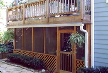 Screened Porches and decks