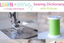 DIY Sewing TUTORIALS! / Mission:  Learn to Sew!  Sewing TUTORIALS!  (I will learn to SEW, it's on my Bucket List!) / by Lynne Hollingsworth