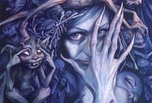 I believe..... / all things Faeries..Brian Froud..Labrynth,Dark Crystal, goblins,trolls..... / by Choirgirlfaerie(Erica)