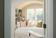 Window Seats-Reading Nooks / Window Seat Tutorials & Reading Nook Ideas / by Lynne Hollingsworth