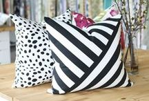 Pillows for Days / Pillows to Purchase with Links, Color and Pattern Pillow Ideas and Inspiration / by Lynne Hollingsworth