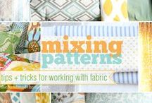 Fabric and Textile Sources & Ideas / Upholstery Fabric and Fabric for Pillows and Crafts, and... anything else I learn to sew! / by Lynne Hollingsworth