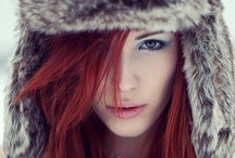 Sexy Redheads / Beautiful girl with fiery hair.