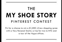My Shoe Story. / #myshoestory #jcrew