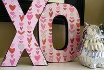 Valentine's Day / Valentine's Day decor, crafts and food ideas.