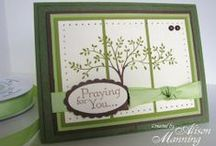 stampin up cards and stamps  / Inspiration using my stampin up stamps