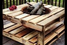 Old Pallet Love / I love all the great ideas I come across that put an old wooden pallet to great use! Finding awesome ideas for you!  #woodenpallets #pallet #wood #DIYideas