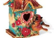 Bird House for your Birdie / I love birds and their houses we provide for them. I've also seen some pretty neat bird-made homes too! / by Audrey Crothers