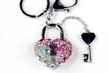 Crafty Keychains - Keyrings - Purse/Bag - Car Charms - Dangles - Bling