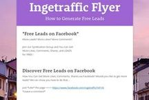 My Flyers  / How to Get Free Leads, more Likes, Comments, Shares...
