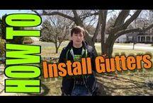 Gutters / See various gutter installations!