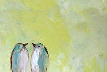 aquarel en meer