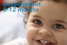 your growing baby / information on babies 0-12 months