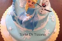 Cake Frozen / Torte frozen