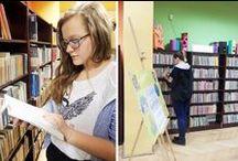 Czytamy na blogach [2014-2015] / Tutaj znajdziesz najciekawsze inspiracje związane z czytaniem znalezione na blogach Szkoły z Klasą 2.0 - edycja 2014/2015 / by Szkoła z Klasą 2.0