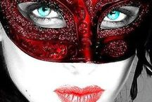 Red Carnival Came to You *.* / Carnivals in the world, red colour in combination black, red & white...