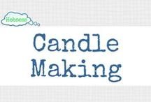 Candle Making (A&C) / Making candles could be your hobby OR business! Learn more at www.hobsess.com/arts-crafts/candle-making. (Follow this board if you love making candles! If you'd like to contribute, send me a Pinterest message or email at Rev@hobsess.com)