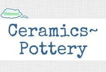 Ceramics/Pottery (A&C) / Ceramics/pottery could be your hobby OR business! Learn more at www.hobsess.com/arts-crafts/ceramics/. (Follow this board if you pottery! If you'd like to contribute, send me a Pinterest message or email at Rev@hobsess.com)