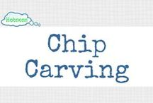 Chip Carving (A&C) / Make chip carving your hobby OR business! Learn more at www.hobsess.com/arts-crafts/chip-carving. (Follow this board if you love chip carving! If you'd like to contribute, send me a Pinterest message or email at Rev@hobsess.com)