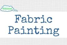 Fabric Painting (A&C) / Make fabric painting your hobby OR business! Learn more at www.hobsess.com/arts-crafts/fabric-painting. (Follow this board if you love fabric painting! If you'd like to contribute, send me a Pinterest message or email at Rev@hobsess.com)