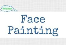 Face Painting (A&C) / Make face painting your hobby OR business! Learn more at www.hobsess.com/arts-crafts/face-painting. (Follow this board if you love face painting! If you'd like to contribute, send me a Pinterest message or email at Rev@hobsess.com)